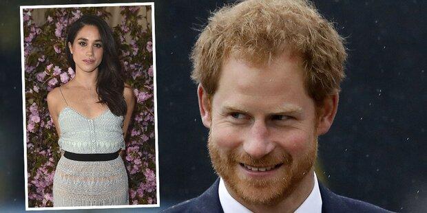 Prinz Harry traf schon Meghans Dad