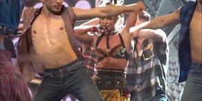 Britney Spears: BH platzt bei Vegas-Show