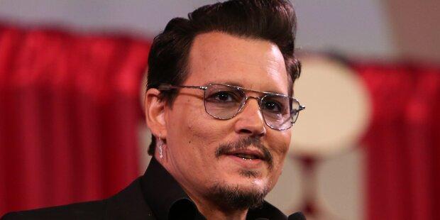 Johnny Depp ist überbezahltester Hollywood-Star