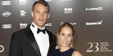 Manuel Neuer & Freundin Nina