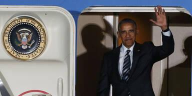 Obama traf sich mit Merkel auf eine Currywurst