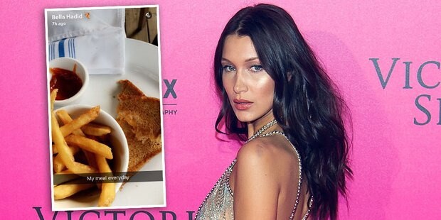 Bella Hadid: Große Essenslüge?