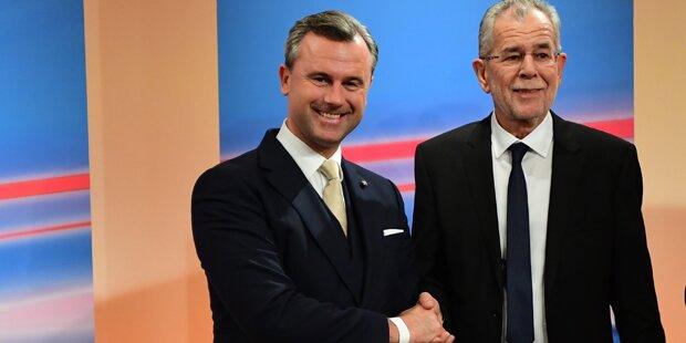 Hofburg-Wahl: Amtliches Endergebnis veröffentlicht