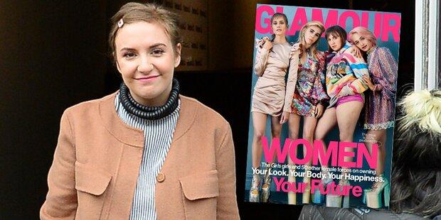 Lena Dunham: Unretuschiert in Magazin