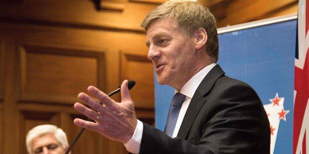 Bill English neuer Regierungschef