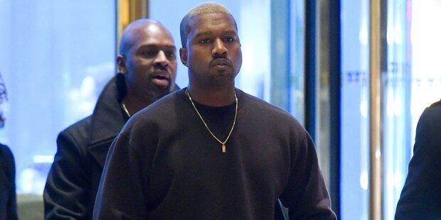 Sextape! Kanye West wurde erpresst
