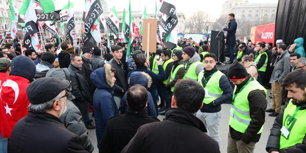 Syrer Demo Wien