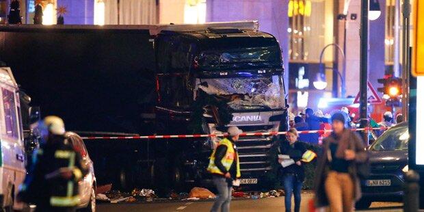 Berlin: Lkw rast in Christkindlmarkt - Mehrere Tote