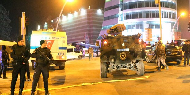 Nach Mord an Kreml-Botschafter: Schüsse vor US-Botschaft in Ankara