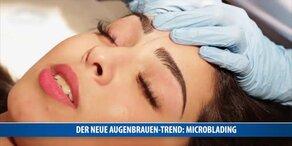 Der neue Augenbrauen-Trend