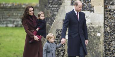 Herzogin Kate, Prinz William, Prinz George, Prinzessin Charlotte