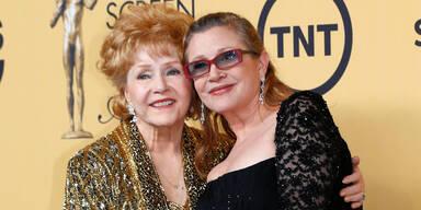 Debbie Reynolds und Carrie Fisher