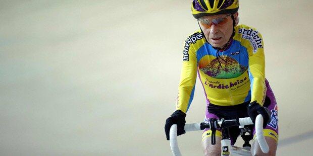 105-Jähriger geht auf Rad-Weltrekord los