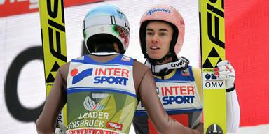 Stefan Kraft springt auf Platz 2