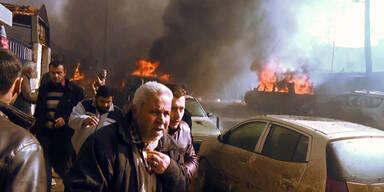 Syrien Autobombe