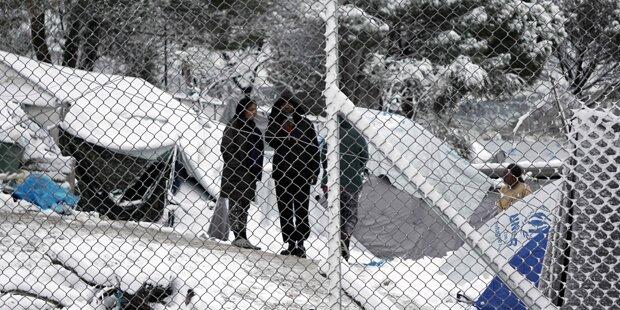 Flüchtlinge fürchten sich vor Hinterhalt