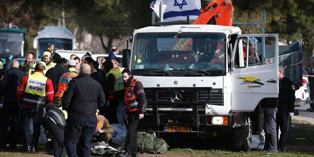 Video zeigt Moment des Anschlags in Jerusalem