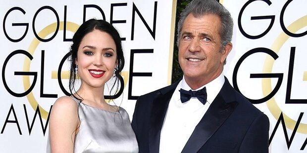 Mel Gibson mit 61 zum 9. Mal Vater