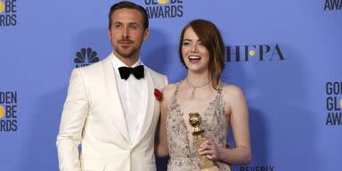 Golden Globes: Ryan Gosling & Emma Stone