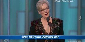 Meryl Streep: Rede gegen Trump