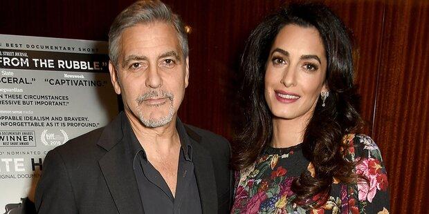 Amal Clooney: Zwillingsglück?