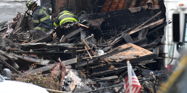 Sechs Kinder in Flammen-Inferno getötet