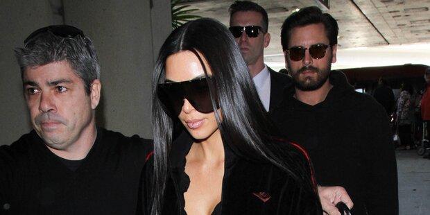 Kim Kardashian vor 1. großen Auftritt