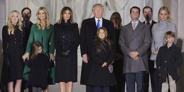 Babyglück im Hause Trump