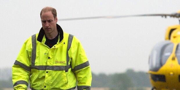 Prinz William gibt seinen Job auf