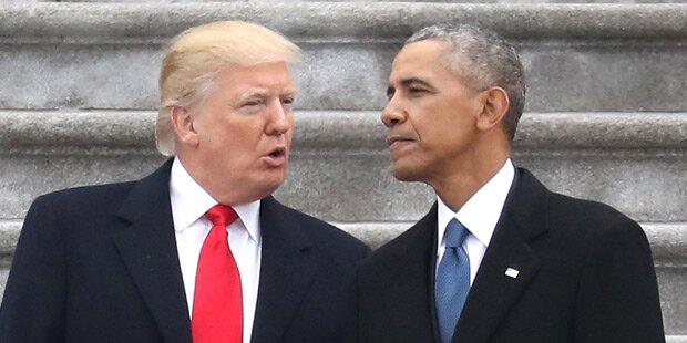 Obama schrieb Trump geheimen Brief