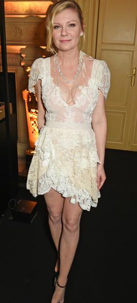 Kirsten Dunst 2017 & 2014