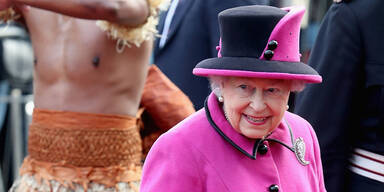Jobangebot von der Queen