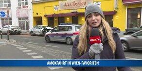 Wilde Amokfahrt in Wien