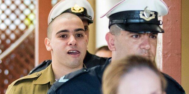 Verletzten Attentäter getötet - Soldat muss 18 Monate in Haft