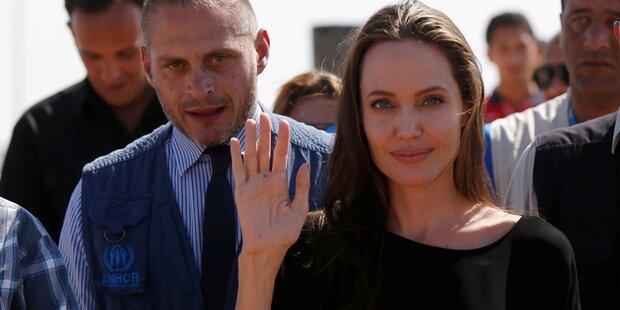 Jolie: Emotionaler Appell an Trump