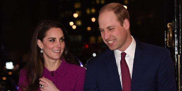 William und Kate reisen nach Paris