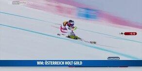 Österreich holt Gold im Super-G