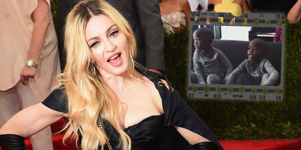 Madonna: Süßes Zwillings-Video