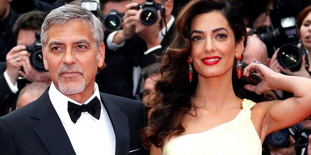 Amal Clooneys Luxus-Baby-Look
