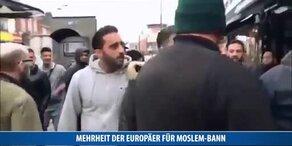 Mehrheit der Europäer für Moslem-Bann