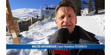 Walter Unterweger exklusiv für oe24.TV in St.Moritz