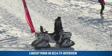 Lindsey Vonn im oe24.TV-Interview