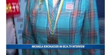 Michaela Kirchgasser im oe24.TV Interview