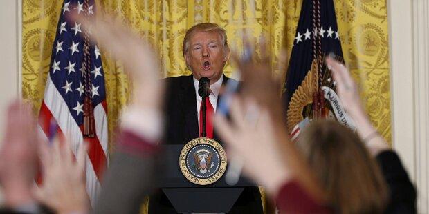 Dieser Trump-Auftritt geht in die Geschichte ein