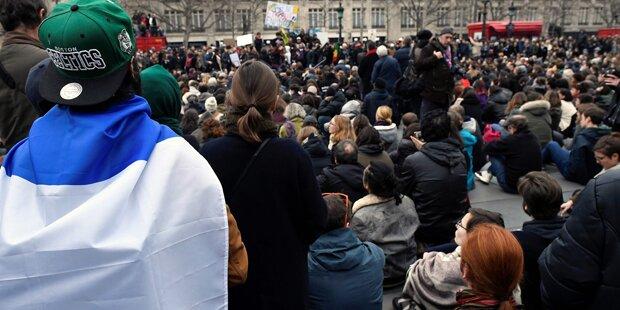 Schon wieder Proteste in Paris