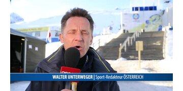 Walter Unterweger exklusiv für oe24.TV aus St.Moriz