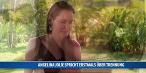 Jolie spricht erstmals über die Trennung