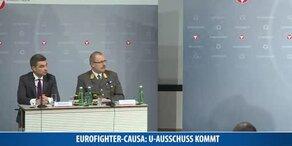 Eurofighter-Causa: U-Ausschuss kommt