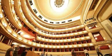 coronabedingte Zuschauerbeschraenkung in Wiener Staatsoper sorgt fuer Finanz-Chaos