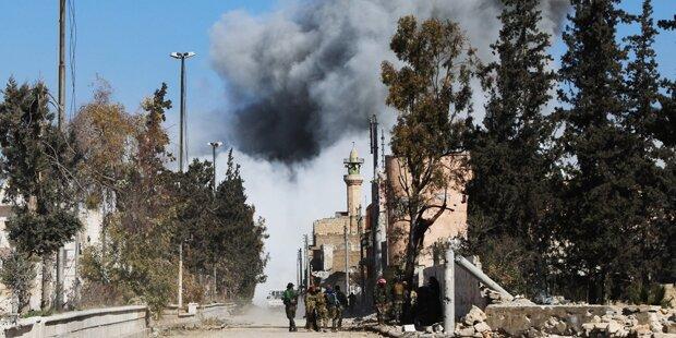 Rebellen nehmen IS-Hochburg Al-Bab ein